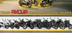 Yamaha jesenski popusti za motocikle i skutere
