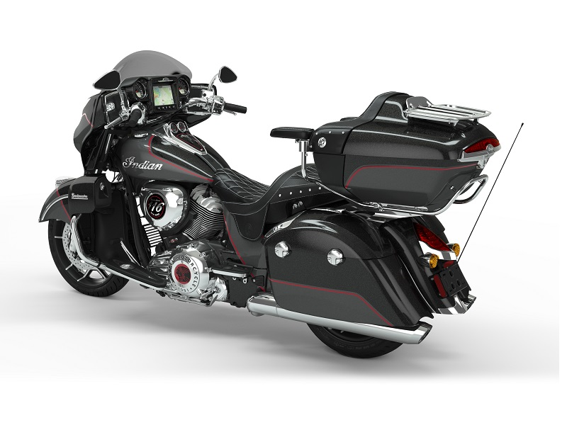 roadmaster elite thunder black vivid crystal over gunmetal flake rear3q
