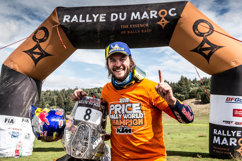 253773 Toby.Price Red Bull KTM Factory Racing Rally du Maroc 2018 162